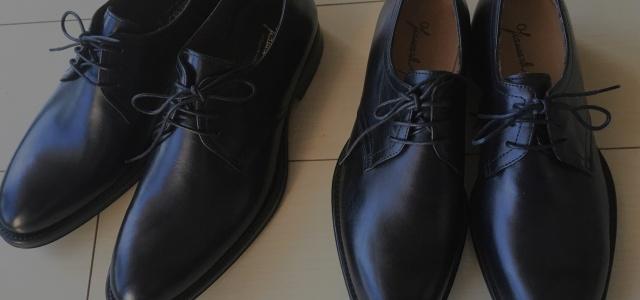 綺麗な靴を履く