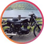 Bさんの愛車のバイクの画像