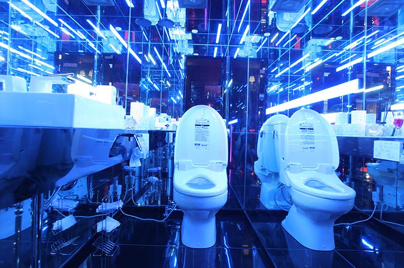 アトム本店のトイレ